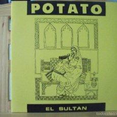 Discos de vinilo: SINGLE DE POTATO, EL SULTÁN / DEDICATE (OIHUKA, 1990), VER FOTOS. Lote 60196879