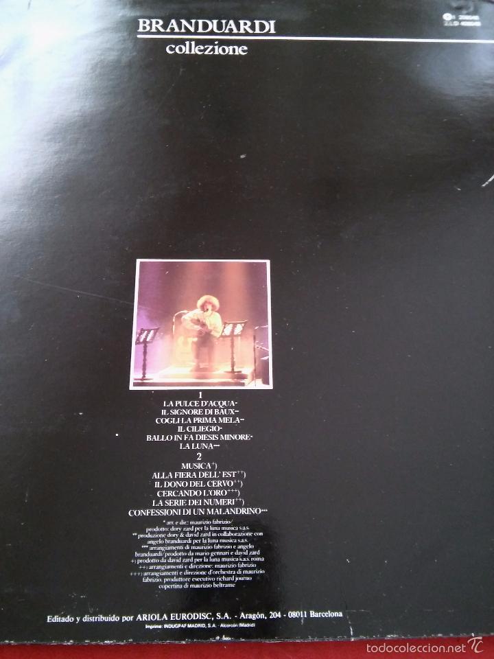 Discos de vinilo: Angelo Branduardi. Collezione. 1987. - Foto 2 - 48822195