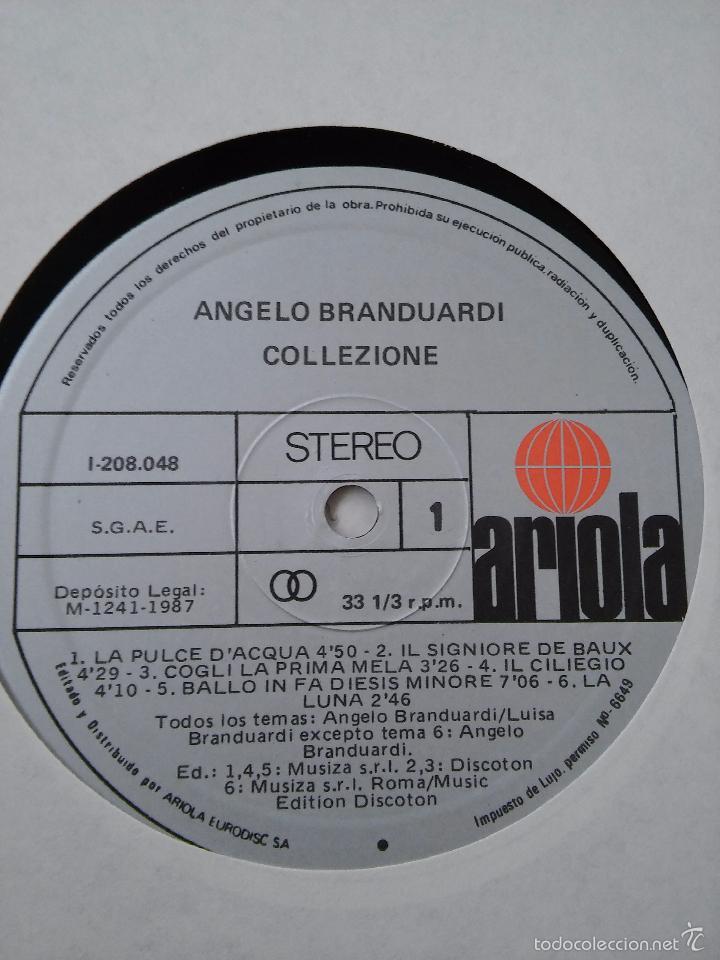 Discos de vinilo: Angelo Branduardi. Collezione. 1987. - Foto 4 - 48822195