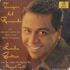 Discos de vinilo: TANGOS DEL RECUERDO - LUCHO GATICA - EMI ODEON - 1962. Lote 61780996