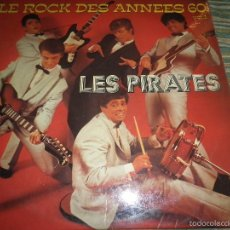 Discos de vinilo: LES PIRATES - ROCK DES ANNEES 60 VOL. 1 LP - EDICION FRANCESA - MUSIDISC 1974 - STEREO. -. Lote 60247399