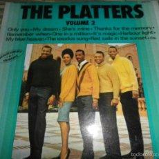 Discos de vinilo: THE PLATTERS - VOLUME 2 LP - EDICION FRANCESA - IMPACT RECORDS1975 - MONOAURAL. Lote 60262211