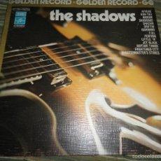 Discos de vinilo: THE SHADOWS - GOLDEN RECORD LP - EDICION FRANCESA - PHATE MARCONI/EMI/COLUMBIA 1973 GATEFOLD COVER. Lote 60266843