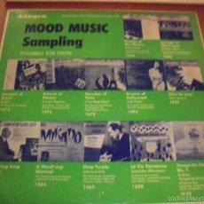 Discos de vinilo: LP MOOD MUSIC SAMPLING. VARIOS ARTISTAS DE LA EDITORA ALLEGRO (AÑOS 50) USA. MUY RARO. COMO NUEVO.. Lote 60270115