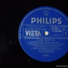 Discos de vinilo: PAUL MAURIAT INTERPRETA A LOS BEATLES - VIETA - DISCO EDICION DE LA CAJA .. Lote 60277743