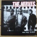 Discos de vinilo: LP THE NERVES ONE WAY TICKET VINILO PAUL COLLINS. Lote 60281419
