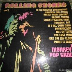 Discos de vinilo: MONKEY´S POP GROUP - ROLLING STONES VOL. 2 LP - EDICION FRANCESA - LES TRTEAUX 70´S STEREO/MONO -. Lote 60282199