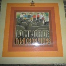 Discos de vinilo: LOS PEKENIKES - LO MEJOR DE LP - ORIGINAL ESPAÑOL - HISPAVOX RECORDS 1973 - ESTEREO -. Lote 60301755