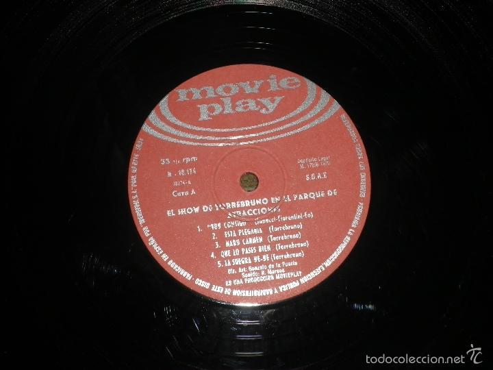 Discos de vinilo: TORREBRUNO - EL SHOW DE LP - ORIGINAL ESPAÑOL - MOVIEPLAY RECORDS 1970 - MONOAURAL - - Foto 8 - 60330431