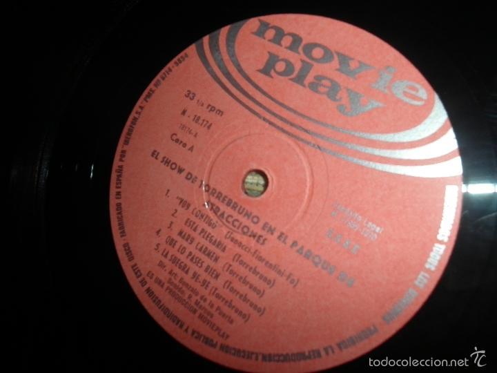 Discos de vinilo: TORREBRUNO - EL SHOW DE LP - ORIGINAL ESPAÑOL - MOVIEPLAY RECORDS 1970 - MONOAURAL - - Foto 10 - 60330431