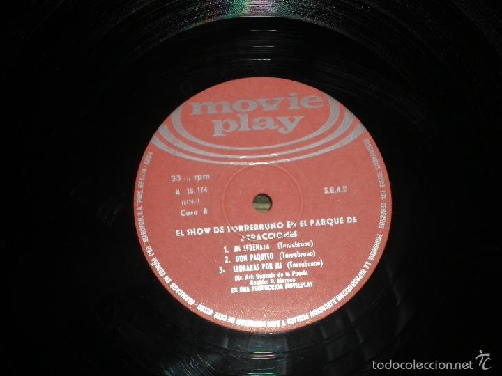Discos de vinilo: TORREBRUNO - EL SHOW DE LP - ORIGINAL ESPAÑOL - MOVIEPLAY RECORDS 1970 - MONOAURAL - - Foto 12 - 60330431
