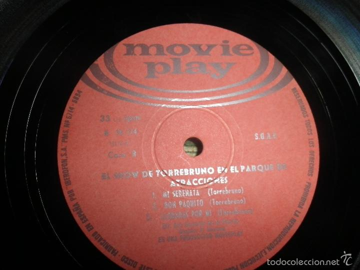 Discos de vinilo: TORREBRUNO - EL SHOW DE LP - ORIGINAL ESPAÑOL - MOVIEPLAY RECORDS 1970 - MONOAURAL - - Foto 13 - 60330431