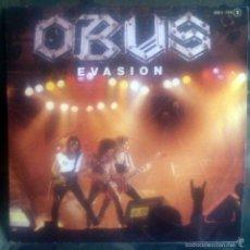Discos de vinilo: OBUS– EVASIÓN SINGLE 1985 FORTU/BARÓN ROJO PANZER. Lote 60339799