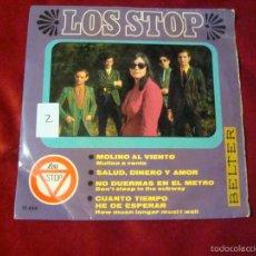 Discos de vinilo: LOS STOP EP MOLINO AL VIENTO Y 3 MAS BELTER 1967. Lote 60342699