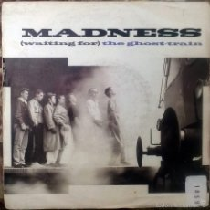Discos de vinilo: MADNESS. (WAITING FOR) THE GHOST-TRAIN/ MAYBE IN ANOTHER LIFE. VIRGIN-ZARJAZZ, UK 1986 SINGLE. Lote 60355975