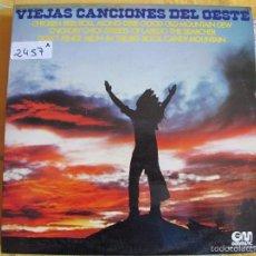 Discos de vinilo: LP - VIEJAS CANCIONES DEL OESTE - LEN ELLIS WITH THE ROCKY MOUNTAINS OL TIME STOMPERS. Lote 60356191