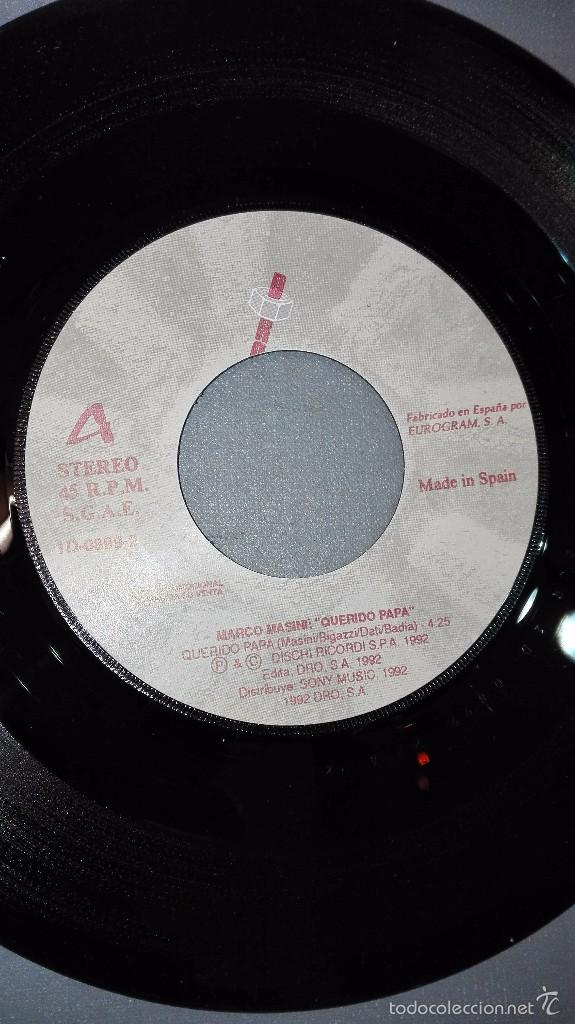 marco masini -querido papa -disco vinilo 7 -po - Comprar en ...