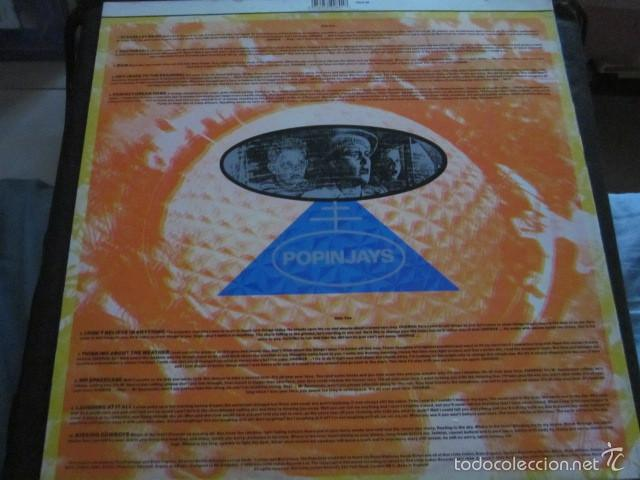Discos de vinilo: POPINJAYS - BANG UP TO DATE WITH THE POPINJAYS - LP - EDICION INGLESA DEL AÑO 1979 - Foto 2 - 60373039