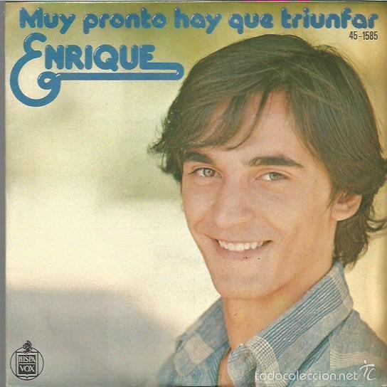 ENRIQUE SINGLE SELLO HISPAVOX AÑO 1977 EDITADO EN ESPAÑA (Música - Discos - Singles Vinilo - Música Infantil)