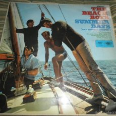 Discos de vinilo: THE BEACH BOYS - SUMMER DAYS LP - ORIGINAL INGLES - CAPITOL RAINBOW LABEL 1965 - STEREO -. Lote 60385111