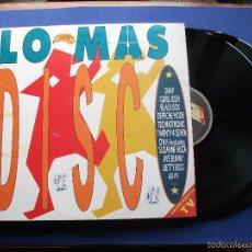 Discos de vinilo: LO MÁS DISCO. DOBLE LP-GATEFOLD / ARIOLA - 1990.. Lote 172662000