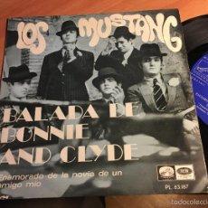 Discos de vinilo: LOS MUSTANG (BALADA DE BONNIE AND CLYDE ) SINGLE ESPAÑA 1968 (EPI2). Lote 60442759