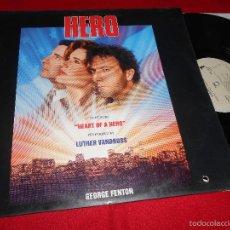 Discos de vinilo: HERO BSO OST GEORGE FENTON GEORGE&IRA GERSHWIN LP 1992 EPIC EDICION ESPAÑOLA SPAIN. Lote 60448879