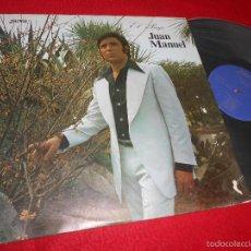 Discos de vinilo: EL PAYO JUAN MANUEL LP 1974 ZARTOS VINILO NUEVO. Lote 104951162