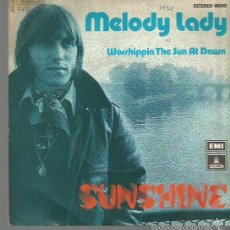 Discos de vinilo: SUNSHINE SINGLE SELLO EMI-ODEON AÑO 1974 EDITADO EN ESPAÑA PROMOCIONAL . Lote 60455099