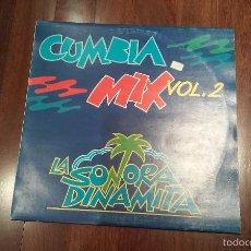 Discos de vinilo: LA SONORA DINAMITA-CUMBIA MIX VOL 2.MAXI. Lote 60460499
