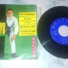 Discos de vinilo: ENNIO SANGIUSTO: LUNA CONTINENTAL + 3 (BELTER 1963) . Lote 60466755