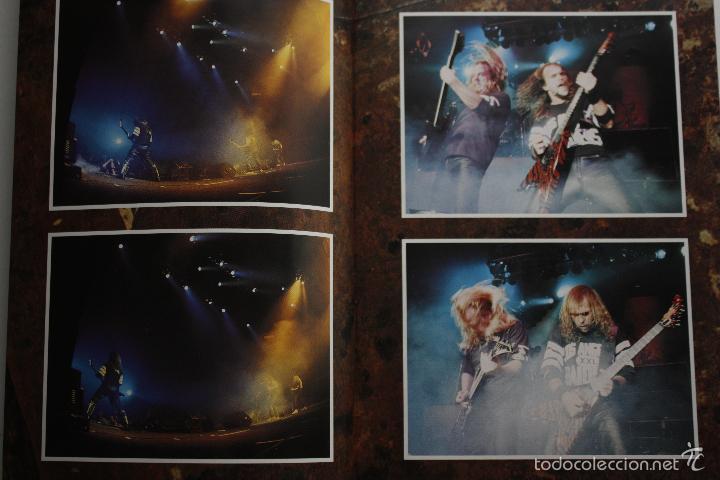 Discos de vinilo: SLAYER- DECADE OF AGGRESSION-LIVE- USA 2 LP 1991+ BOOKLET. - Foto 4 - 145219016