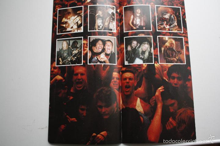 Discos de vinilo: SLAYER- DECADE OF AGGRESSION-LIVE- USA 2 LP 1991+ BOOKLET. - Foto 5 - 145219016