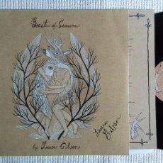 Discos de vinilo: LAURA GIBSON - '' BEASTS OF SEASONS '' LP + INNER + LINK + ACOUSTIC LINK FIRMADO POR LAURA GIBSON. Lote 28640422
