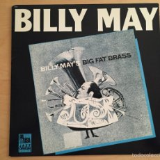 Discos de vinilo: BILLY MAY: BILLY MAY'S BIG FAT BRASS. Lote 60494897