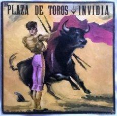 Discos de vinilo: INVIDIA: PLAZA DE TOROS, SINGLE MAX MUSIC S255, SPAIN, 1987. EX/VG+. Lote 60496851