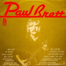 Discos de vinilo: PAUL BRETT – PAUL BRETT ( VINILO LP ) ESPAÑA 1975. Lote 60498543