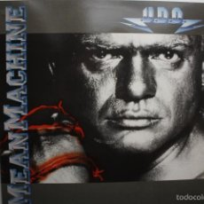 Discos de vinilo: UDO- MEAN MACHINE- SPANISH LP 1989 - ACCEPT- VINILO EXC. ESTADO.. Lote 60502799