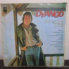Discos de vinilo: DYANGO SUS GRANDES EXITOS 1978 EMI ODEON 11665 COLOMBIA LP T2 VG RARO RAREZA. Lote 60519275