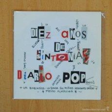 Discos de vinilo: VARIOS - DIEZ AOS DE SINTONIAS DIARIO POP - EP. Lote 60521923