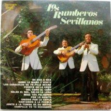 Discos de vinilo: LOS RUMBEROS SEVILLANOS - CANTAMOS A LA PUEBLA - LP OLYMPO 1975 BPY. Lote 60525515