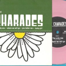Discos de vinilo: CHARADES, THE: THE ONLY ONE / WHERE WE WILL GO / YOU BETTER RUN / LUCKY GIRL. Lote 60527751