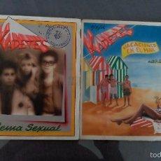 Discos de vinilo: LOTE 2 SINGLES KADETES . Lote 60541007