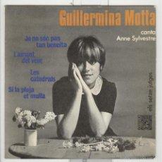 Discos de vinilo: GUILLERMINA MOTTA. CANTA ANNE SYLVESTRE. CONCENTRIC 1966. Lote 60558687