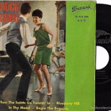 Discos de vinilo: CHUCK MARSHAL: WHEN THE SAINTS GO TWISTIN´ IN / BLUEBERRY HILL / IN THE MOOD / BEGIN THE BEGUINE. Lote 60562147