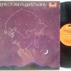 Discos de vinilo: BRIAN AUGER & THE TRINITY - '' HIGHLIGHTS OF BRIAN AUGER ...'' LP ORIGINAL GERMANY 1970. Lote 60571343
