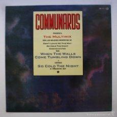 Discos de vinilo: COMMUNARDS - THE MULTIMIX. Lote 60574611