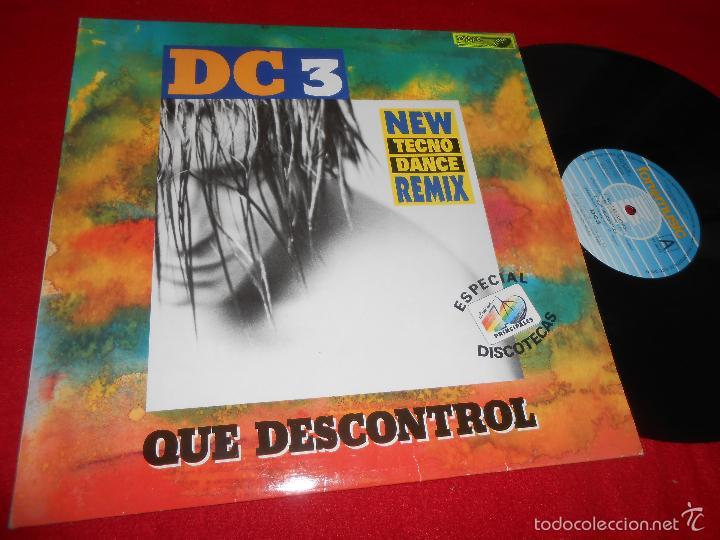 DC3 Que descontrol +3 versiones 12 MX 1993 Fonomusic SYNTH TECNO POP 40  PRINCIPALES