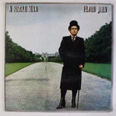 Discos de vinilo: ELTON JOHN - A SINGLE MAN. Lote 60600683