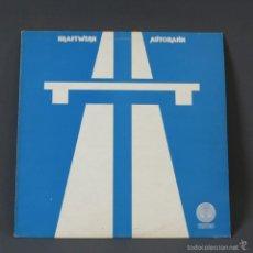 Discos de vinilo: MAXI SINGLE. VINILO 45 RPM KRAFTWERK - AUTOBAHN. EDICION: INGLATERRA POR VERTIGO 1974. Lote 60605979
